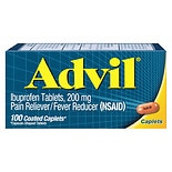 Advil Pain Reliever/Fever Reducer Coated Caplets Coated Caplets