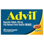 Advil Ibuprofen Pain Reliever/Fever Reducer Coated Caplets