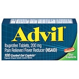 Advil Pain Reliever/Fever Reducer Coated Gel Caplets Coated Gel Caplets