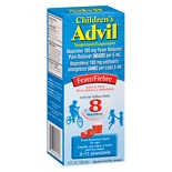 Children's Advil Children's Fever Ibuprofen Oral Suspension Liquid Fruit Flavored
