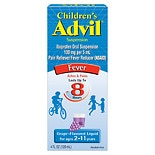 Children's Advil Ibuprofen Oral Suspension Grape Grape