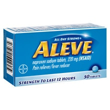 Aleve Pain Reliever/Fever Reducer Tablets