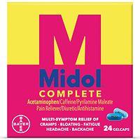 Midol Complete, Gelcaps