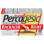 Percogesic Maximum Strength, Backache Relief, Coated Caplets