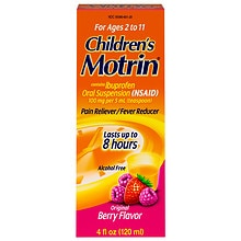 Children's Ibuprofen Oral Suspension Berry Liquid