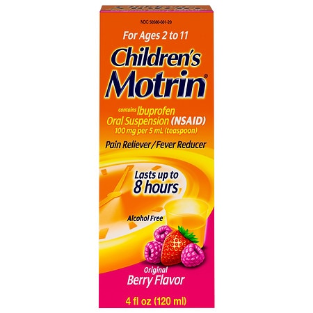 Children's Motrin Children's Ibuprofen Oral Suspension Berry Liquid