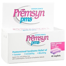 Premsyn PMS Maximum Strength Premenstrual Syndrome Relief Caplets