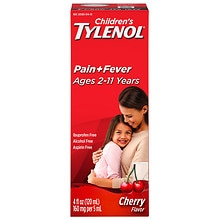 Children's TYLENOL Children's Pain & Fever Oral Suspension Cherry Blast