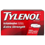 TYLENOL Extra Strength Pain Reliever & Fever Reducer, 500mg Caplets