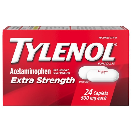 TYLENOL Extra Strength Acetaminophen 500 mg Caplets