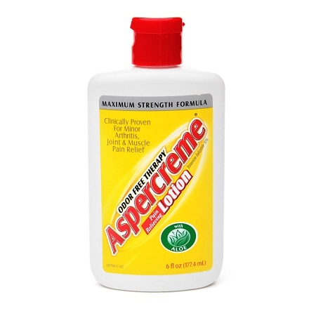 Aspercreme Pain Relieving Lotion with Aloe