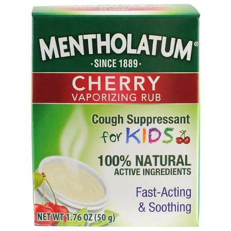 Mentholatum - Children's Chest Rub, Cherry Scented