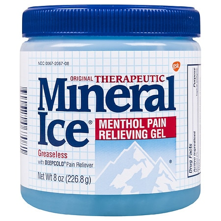 Mineral Ice Pain Relieving Gel