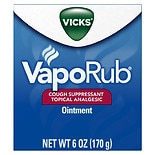 Vicks Vaporub Cough Suppressant Topical Analgesic Ointment
