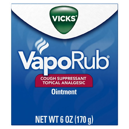 Vicks Vaporub Cough Suppressant Topical Analgesic Ointment Original