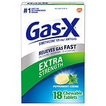 Gas-X Extra Strength Antigas Chewable Tablets