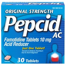 Pepcid AC AC Acid Reducer Tablets
