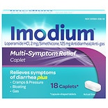 Imodium Advanced Multi-Symptom Relief Anti-Diarrheal/Anti-Gas Caplets Caplets