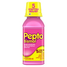 Pepto-Bismol Upset Stomach Reliever/Antidiarrheal Liquid