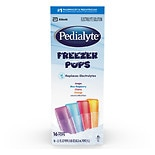 Pedialyte Oral Electrolyte Maintenance Solution Freezer Pops Assorted Flavors