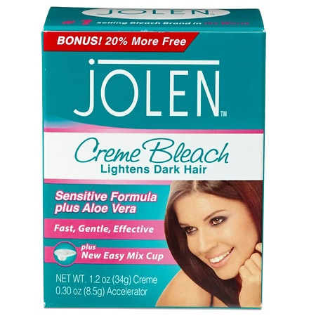 Jolen Creme Bleach Kit for Hair