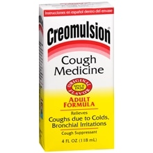 Creomulsion Cough Medicine, Adult Formula Original