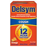 Delsym 12 Hour Cough Suppressant Liquid Orange-Flavored