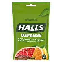 Defense Vitamin C Supplement Drops Assorted Citrus