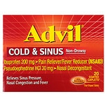 Advil Cold and Sinus Cold & Sinus Coated Caplets