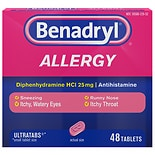 Benadryl Allergy Ultratab Tablets Ultratab Tablets