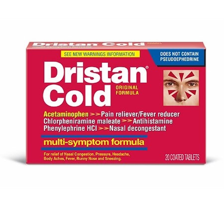 Dristan Cold Tablets