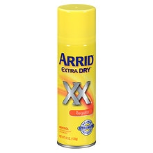 Extra Dry Antiperspirant Deodorant Spray, Regular