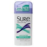 Sure Original Solid Antiperspirant & Deodorant Unscented