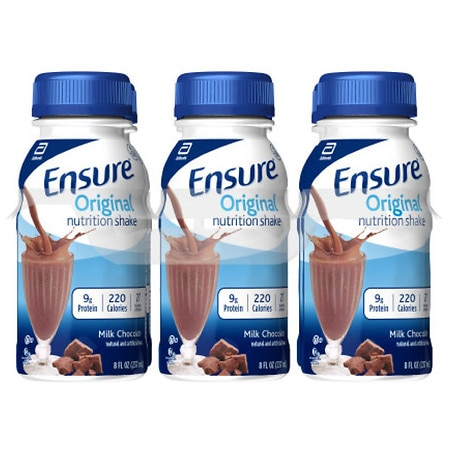 Ensure Nutrition Shakes Liquid 6 Pack Creamy Milk Chocolate, 6 pk