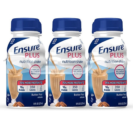 Ensure Plus Nutrition Shake 6 Pack Butter Pecan,6 pk