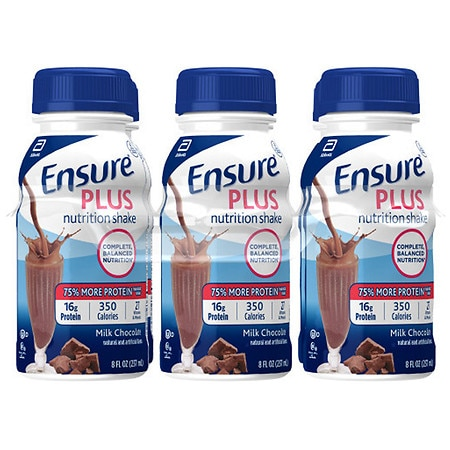 Ensure Plus Shake 6 Pack Milk Chocolate,6 pk
