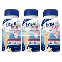 Ensure Plus Nutrition Shake, 8 fl oz Vanilla