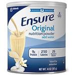 Save $3.50 on Ensure Nutrition Vanilla Powder Shake 14 oz.