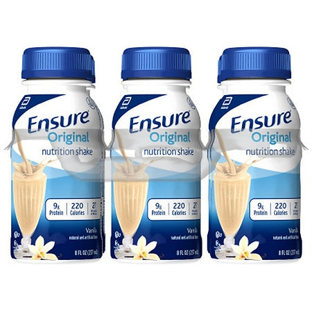 Ensure Nutrition Shake Vanilla, 6 pk