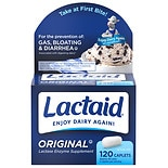 Lactaid Original Strength Lactase Enzyme Supplement, Caplets