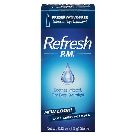 Refresh PM Lubricant Eye Ointment