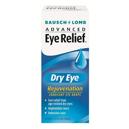 Advanced Eye Relief Lubricant Eye Drops, Dry Eye, Rejuvenation
