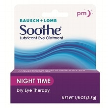 Soothe Lubricant Eye Ointment, Night Time