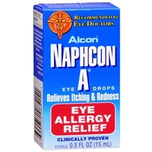 Naphcon-A Allergy Relief Eye Drops