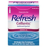Refresh Plus Lubricant Eye Drops, Single-Use Containers