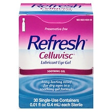 Refresh Plus Lubricant Eye Drops 30 Pack