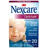 Nexcare Opticlude Orthoptic Eye PatchesJunior Size