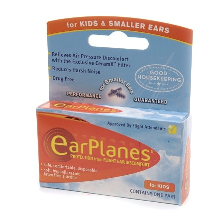 EarPlanes Children's Ear Plugs, Disposable