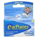 EarPlanes Disposable Ear Plugs Universal Fit