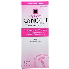 Options Gynol II Vaginal Contraceptive Gel
